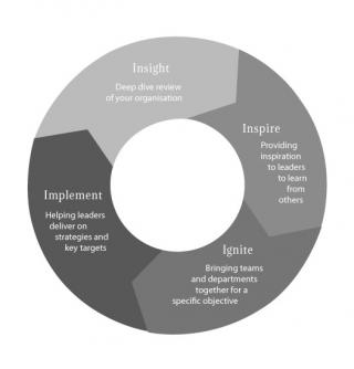 Graphic of AAW Change Model